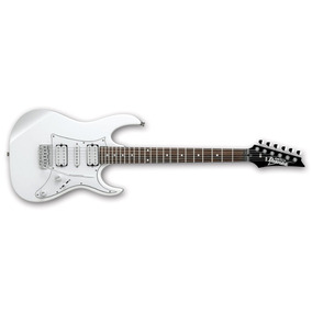 Guitarra Eléctrica Ibanez Grx50-wh Blanca Serie Gio