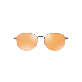 Óculos De Sol Ray Ban Hexagonal Blaze Rb3579 Azul Lente Esp · R  519 90 c7881df990