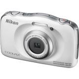 Camara Digital Nikon S33 Sumergible 10m Acuatica Caidas 1.5m