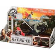 Jurassic World Velociraptor Blue Jurassic Park Mattel