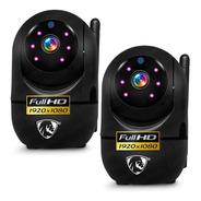 Kit 2 Camaras De Seguridad Wifi Ip 1080p Robotica