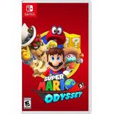 Super Mario Odyssey - Nintendo Switch Nuevo Fisico Sellado