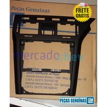 Moldura Central Rádio Painel Vectra 2009 2010 2011 Preta