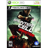 Splinter Cell Conviction Xbox 360 One Retrocompatible Nuevo