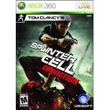 Splinter Cell Conviction Xbox One 360 Retrocompatible
