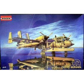 Roden Avion Grumman Mohawk Ejercito Argentino 1/48