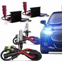 Kit Xenon Carro 6000k 8000k H1 H3 H4 H7 H11 H16 H27 Hb3 Hb4