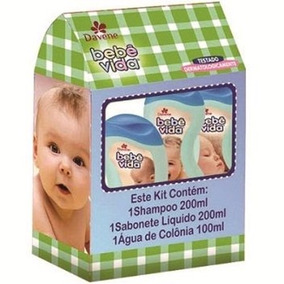 Kit Davene Bebê Vida - Sabonete Líquido+shampoo+água De Col