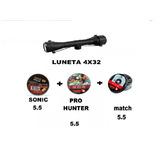 Combo Luneta 4x32 + 3 Chumbinho 5.5