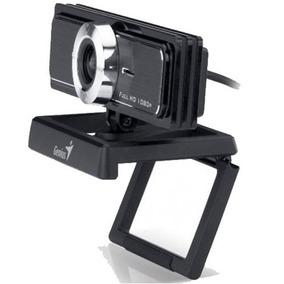 Webcam Genius F100 1080p Full Hd Micrófonos Skype Mexx
