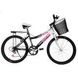 Bicicleta Lady África Rod 26 Equipada 6 Velocidades Montaña