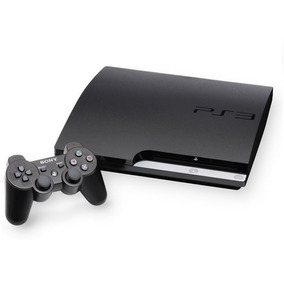 Playstation 3 Ps3 Slim + Fifa 18 + Pes 2018 + Gta 5 + 37 Jog