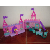 Castillo Princesas Little People Fisher Price+ Carro De Niña