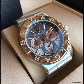 f2ec54d7d32 Relogio Bulgari Original Ouro Masculino Bvlgari - Relógios De Pulso ...