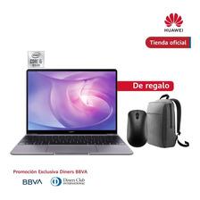 Huawei Matebook 13 I5 8gb+512gb Gris+mochila+mouse