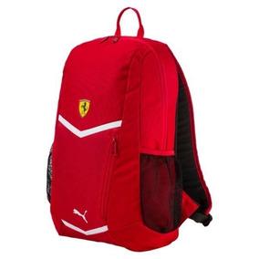 Puma Mochila Ferrari Fanwear Rojo