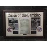 Cuadro Decorativo Deportivo Babe Ruth. Beisbol. Yankees