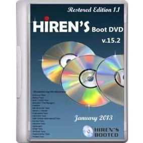 Hirens Boot 15.2 Ferramenta Recuperação De Arquivos.