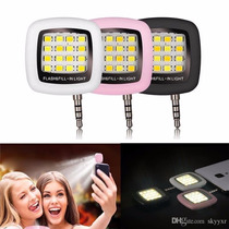 10 Mini Flash Led Smartphones ¡selfies Y Fotos Perfectas!