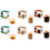 6 Cajas De Capsulas Dolce Gusto Surtidas No Incluye Cafetera