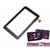 Tela Vidro Touch Tablet Candide Monster High 7 Pol