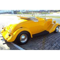 Hot Rod Ford 1934 V8 Conversível Chassi De Inox New Car