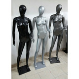 Maniquies Plastico Color Peltre Plata Negro. No Se Rompen!!!