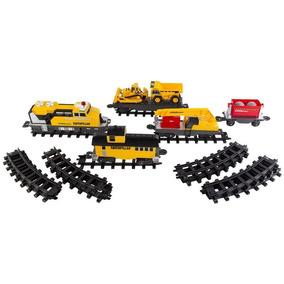 Locomotiva Caterpillar Cat Construction Express Train 3644