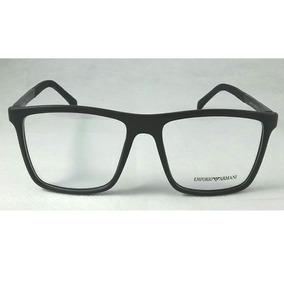 a6968f39211de Oculos Armacao Quadrada Sem Grau Armani - Óculos no Mercado Livre Brasil