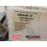 Electrodo De Recubrimiento Duro Lincoln Gridur 18 1/8 Y 5/32