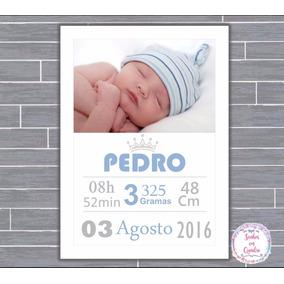 Quadro De Nascimento-maternidade-recém Nascido-infantil 012