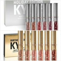 Set Kylie Holiday - Birthday Matte Cumple Años Envio Gratis