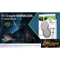 Hd 1 Tb Barracuda Seagate Ps4 Ps3 Xbox One Notebook Lacrado