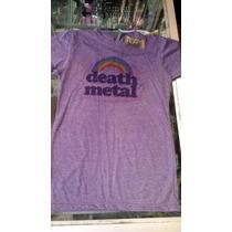 Playera Death Metal Rainbow Moda Gotico Nugoth Pastelgoth