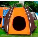 Casa Perro Tipo Carpa Plegable Medida 50ax65d + Obsequio
