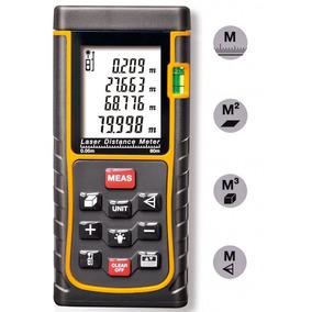 Medidor Laser A Distancia 80 Metros Flexometro Laser