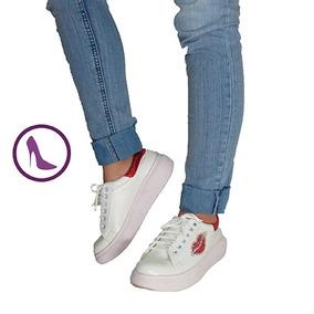 Zapatillas Mujer Via Lola Moda Invierno 2017 Besos