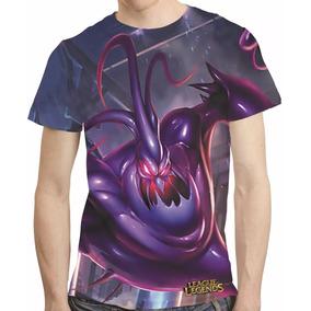 Camisa Game League Of Legends Camiseta Zac Estampa Total