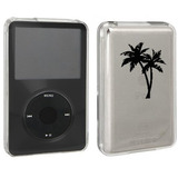Negro Apple Ipod Classic Cubierta Dura De La Caja 6th 80gb