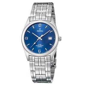 Reloj F8825/2 Plateado Festina Hombre Acero Clasico