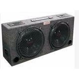 Caja Auto Doble Woofer 10 2 Tweeter 250 Watts Kic 110 Xxx