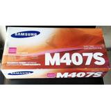 Toner Original Samsung Clt-m407s M407s Magenta Iva Incluido