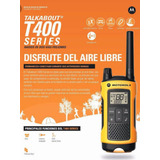 Radio Handy Talkabout Motorola T400