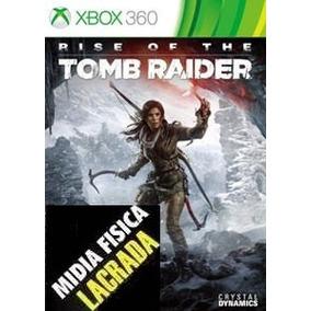 Jogo Rise Of The Tomb Raider Midia Fisica Xbox 360 Novo