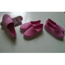 Zapatos Zapatillas Estilo Crox Para Dama Marca Inter Oscean
