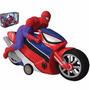 Moto De Juguete A Fricción Spiderman Yellow Brinqueados