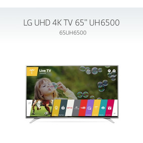 Televisores Lg Ultra Hd 4k Smart Tv 65uh6500