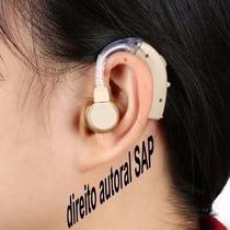 Audição Fone Sem Fio V6 Ouvido 312 Amplificador