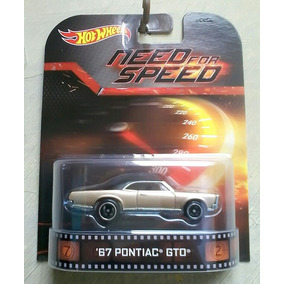 Hot Wheels Pontiac Need For Speed, Raridade Escala 1/64