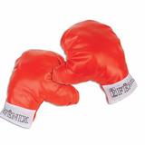 Luva De Boxe Bate Saco Infantil Vermelho Luta Pancada Bx177